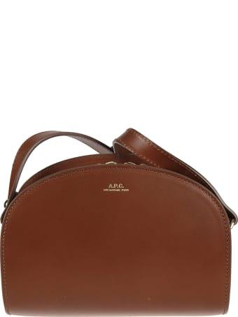 A.P.C. Demi-lune Crossbody Bag