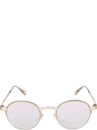 Mykita + Maison Margiela Dual Bridge Round Frame Glasses