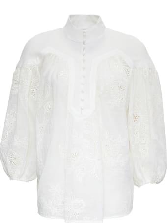 Zimmermann White Riders Shirt