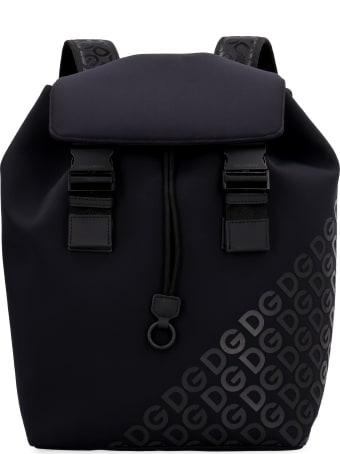Dolce & Gabbana Millennials Printed Neoprene Backpack
