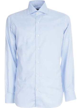 Barba Napoli Twill Shirt