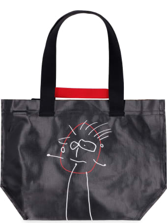 Plan C Printed Tote Bag