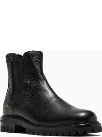 Common Projects Winter Chelsea Bumpy Ankle Boots 6047