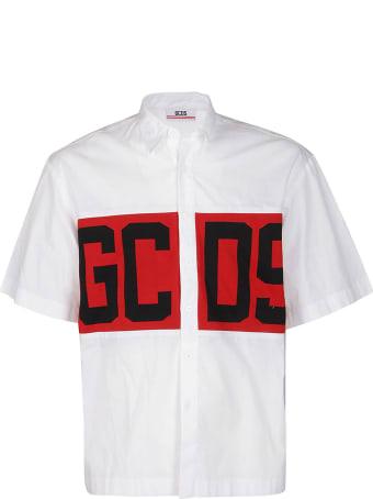 GCDS White Cotton Shirt