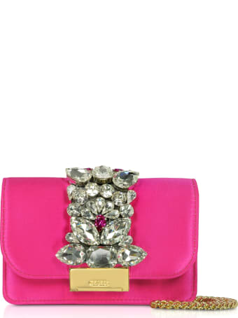 Gedebe Satin Mini Cliky Clutch