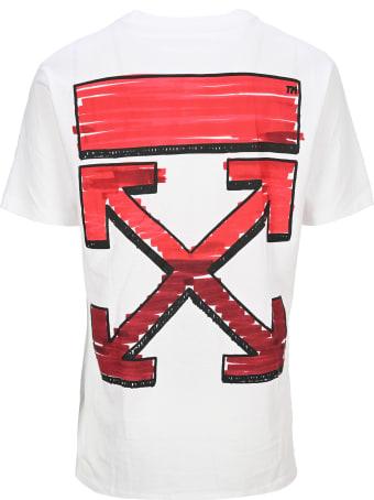 Off-White Off White Arrows Print T-shirt
