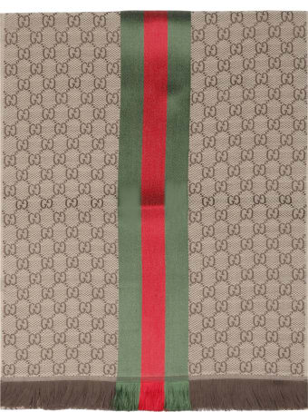 Gucci Gg Scar With Web Tape
