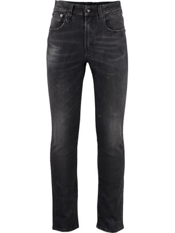 R13 Skate Slim Fit Jeans
