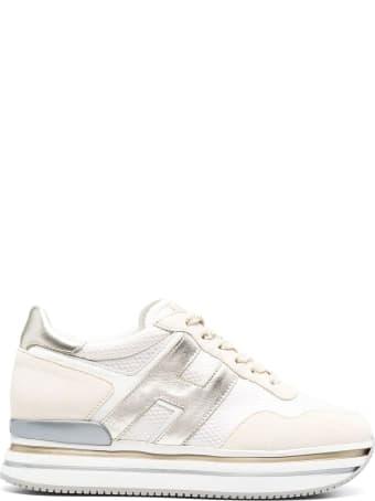 Hogan Beige Midi H222 Sneakers