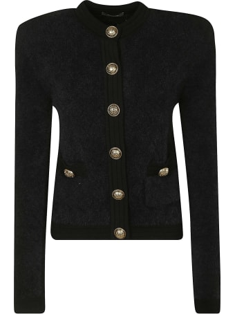 Balmain Cropped Buttoned Jacket