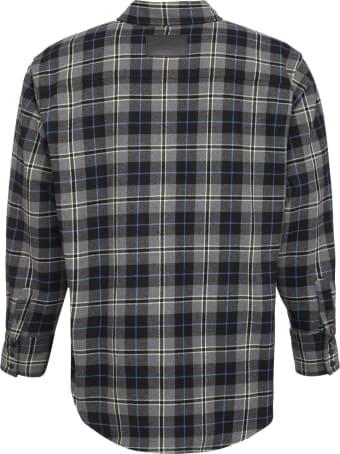MSGM Checked Flannel Shirt