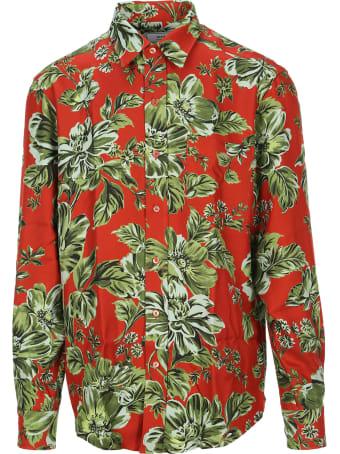Ami Alexandre Mattiussi Ami Floral Print Shirt