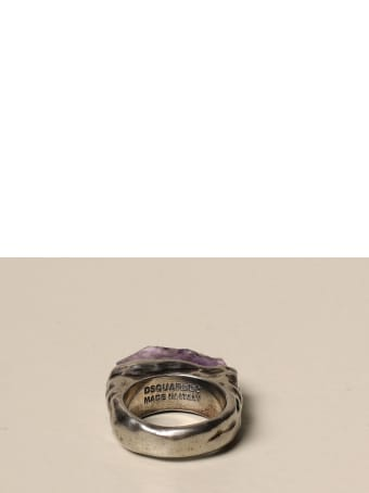 Dsquared2 Jewel Dsquared2 Ring With Quartz / Amethyst