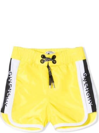 Givenchy Yellow Shell Shorts