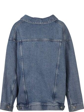 Balenciaga Denim Oversized Jacket