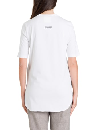SEMICOUTURE Long-line Tee