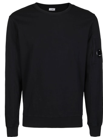 C.P. Company Black Cotton Sweatshirt