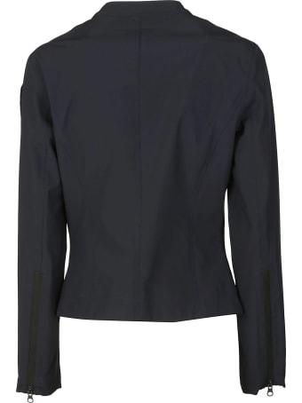 Blauer Round Collar Zipped Jacket