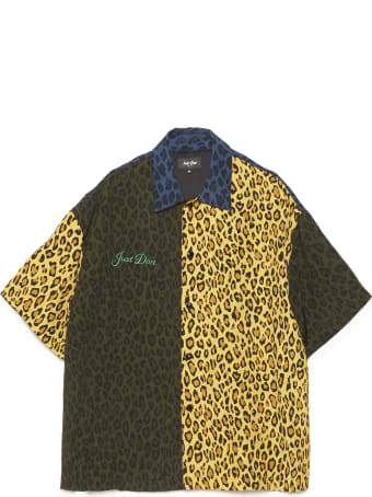 Just Don 'leopard Warm Up' Shirt