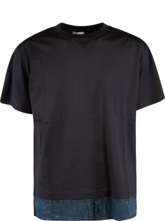 Christian Dior Bottom Double-layered Detail T-shirt