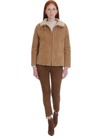 Salvatore Santoro Pants In Beige Leather