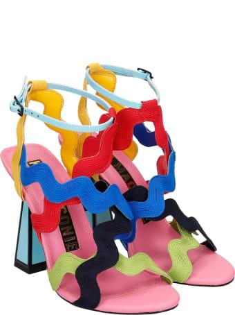 Kat Maconie Jihan Sandals In Multicolor Synthetic Fibers