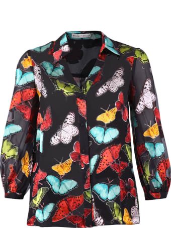 Alice + Olivia Printed Shirt