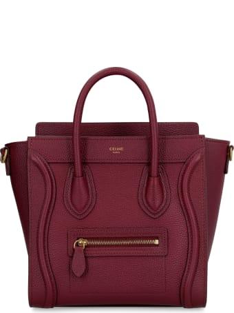 Celine Nano Luggage Leather Bag