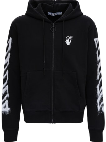 Off-White Spray Marker Jersey Hoodie