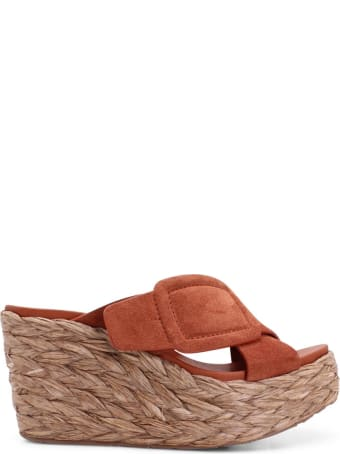Pedro Garcia 'donata' Leather Wedge