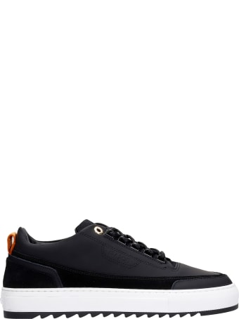 Mason Garments Firenze Sneakers In Black Rubber/plasic