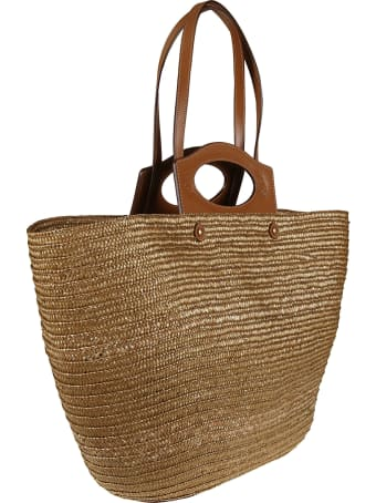 Tod's Top Handle Woven Tote