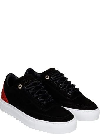 Mason Garments Firenze  Sneakers In Black Suede