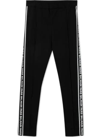 Balmain Leggings With Side Print