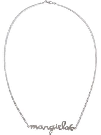 MM6 Maison Margiela Necklace With Lettering Logo
