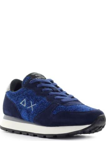 Sun 68 Sun68 Ally Thin Glitter Navy Blue Sneaker