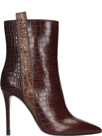 The Seller Ankle Boots In Brown Leather