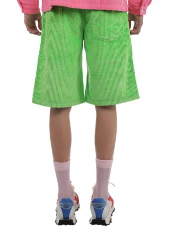 ERL Green Cord Bermudas