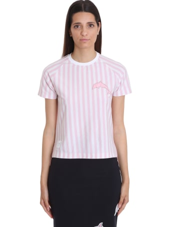Thom Browne T-shirt In White Cotton