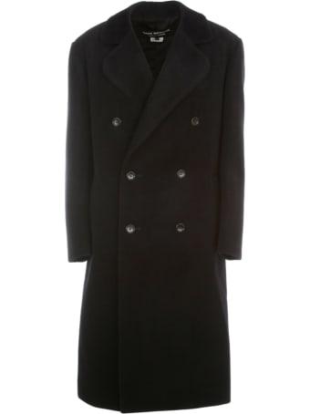 Junya Watanabe Comme Des Garçons Angora Beaver Doubel Breasted Coat