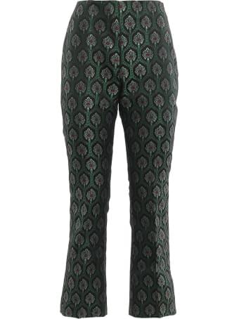 Be Blumarine Liberty Jacquard Pants