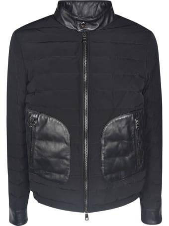 Dolce & Gabbana Side Zipped Pocket Padded Jacket