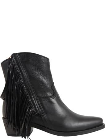 Cinzia Araia Black Boots For Girl