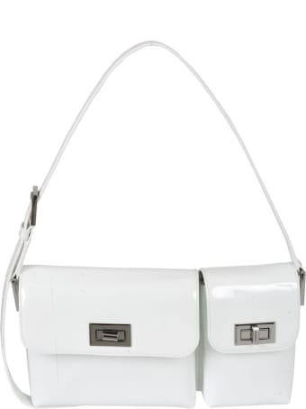 BY FAR Billy Patent Leather Shoulder Bag