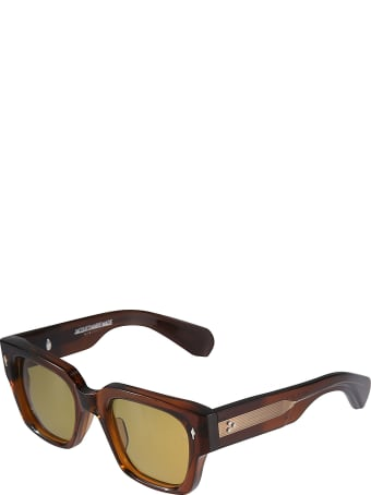 Jacques Marie Mage Engraved Logo Sunglasses