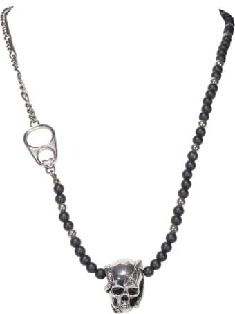 Alexander McQueen Beads And Skull Necklace