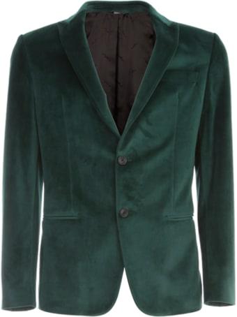 Emanuel Ungaro Viscose Velvet Jacket