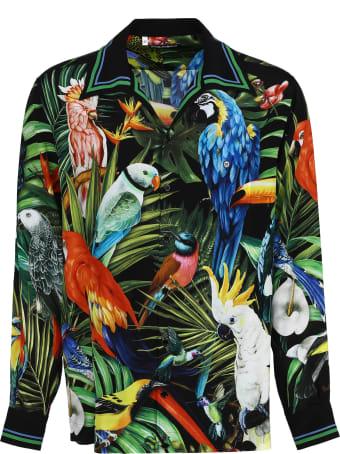 Dolce & Gabbana Crêpe-silk Shirt