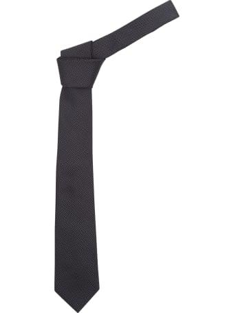Z Zegna Micro Parttern Tie