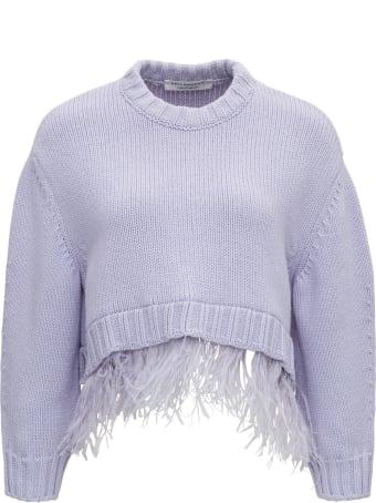 Philosophy di Lorenzo Serafini Sweater With Feathers